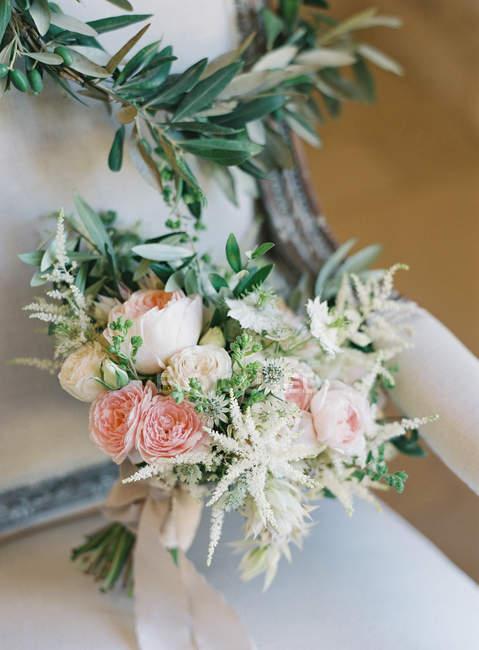 Wedding pastel bouquet — Stock Photo