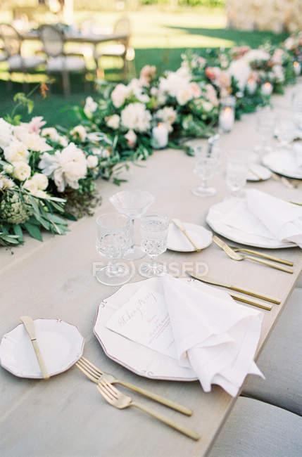 Composition florale de mariage — Photo de stock