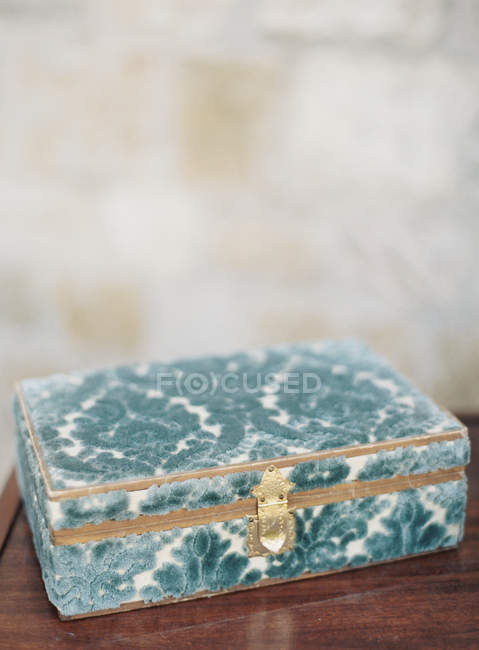 Vintage box for jewelry — Stock Photo