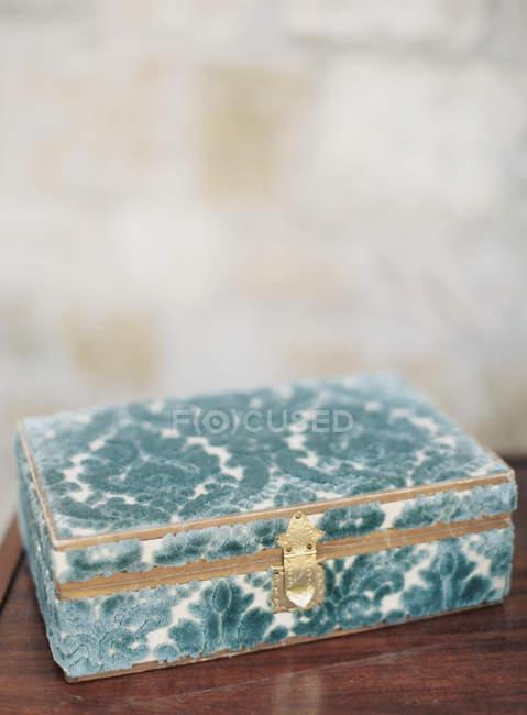 Винтаж коробки для ювелирных изделий — стоковое фото