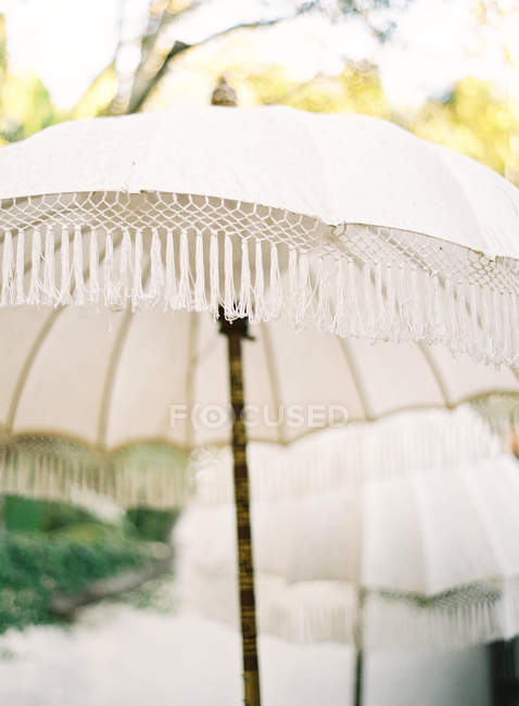 Old retro umbrella — Stock Photo