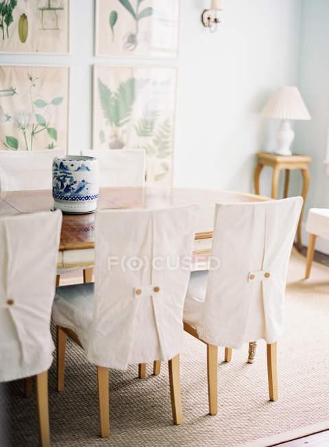 Interior de sala jantar — Fotografia de Stock