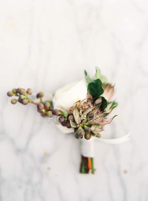 Маленький букет невесты — стоковое фото
