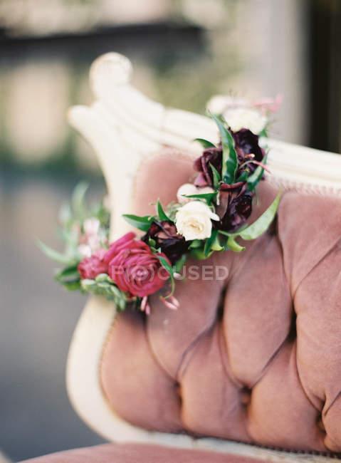 Свіжі квіткові корони — стокове фото