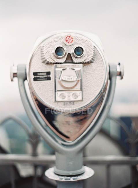 Sightseeing binocular machine — Stock Photo