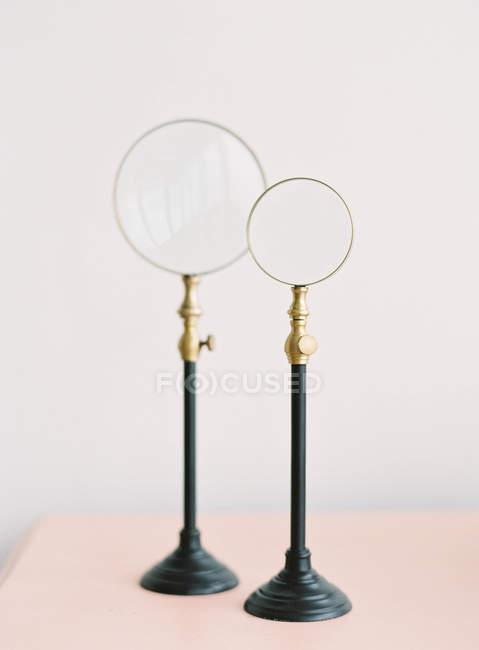 Lupen auf dem Stand — Stockfoto