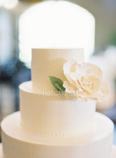 White wedding cake — Stock Photo | #157702546