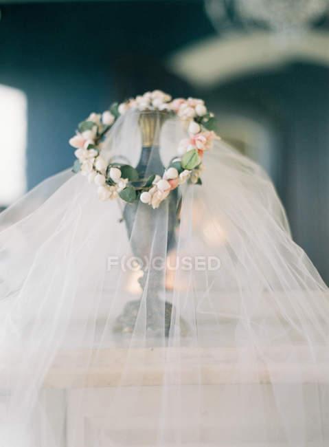 Свіжі квіткові корону і Люкс для Фата — стокове фото