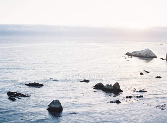 Rocks in coastal line — Stock Photo