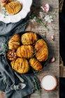 Homemade sweet buns — Stock Photo