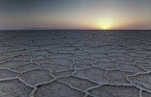 Соляная пустыня Кувейте Дашт е — стоковое фото