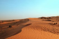 Desert, Emirate of Sharjah — Stock Photo