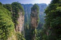 Montanhas de Aleluia, torres de arenito — Fotografia de Stock