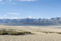 Schnee bedeckten-Heiligen Berg Kailash — Stockfoto
