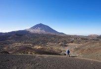Wanderweg Ruta Arenas Negras — Stockfoto