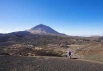 Hiking trail Ruta Arenas Negras — Stock Photo