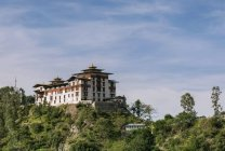 View of Dzong or Fortress of Trashigang — Stock Photo
