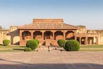 Facade of Jodha Bai palace in Fatehpur Sikri, Uttar Pradesh, India — Stock Photo