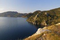 Selimiye-Bucht von Bozburun Halbinsel, Provinz Mugla, Ägäis, Türkei — Stockfoto
