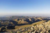 Mountain landscape at Nemrut Dagi in Adiyaman province, Anatolia, Turkey — Stock Photo