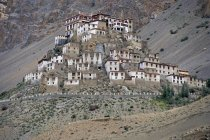 Buddhist Gompa Monastery in Spiti Valley, Indian Himalayas, Himachal Pradesh, North India, India, Asia — Stockfoto