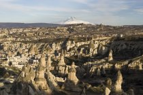Tufa formations of Goreme National Park, Cappadocia, Turkey, Asia — Stock Photo