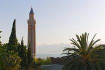 Fluted Minaret de Kaleii, Province d'Antalya, Turquie — Photo de stock