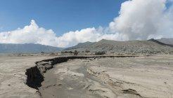 Mount Bromo volcanic clouds in Bromo Tengger Semeru National Park, Java, Indonesia, Asia — Stock Photo