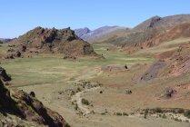 Пустельний долині Encantado в Лос Cardones Національний парк, Сальта, Аргентина — стокове фото