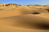 Dunes de sable de Al Khalut désert Sharqiyah, Oman, Arabie, Asie — Photo de stock