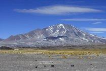Вулкан Incahuasi в Пасо-де-Сан-Франциско, провинции Катамарка, Аргентина — стоковое фото