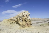 Petrified forest of Bosque Petrificado National Monument, Sarmiento, Chubut, Argentina, South America — Stock Photo