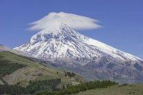 Ланін вулкан в Neuqun провінції, Аргентина, Південна Америка — стокове фото