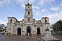 Church Iglesia San Jose in Holguin, Holguin Province, Cuba, Central America — стоковое фото