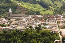 Cityscape of Jardin downtown in Antioquia, Colombia, South America — Stock Photo