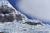 Ледник в Национальный парк Лос-Гласьярес, Патагонии, Аргентина, Южная Америка — стоковое фото