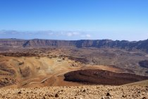 Caldera de las Canadas in Teide national park, Tenerife, Canary Islands, Spain, Europe — Stock Photo