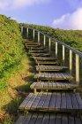 Boardwalk до пляжу через Rantum дюни, Зільт, північно-Фризька острови, Північна Frisia, Шлезвіг-Гольштейн, Німеччина, Європа — стокове фото