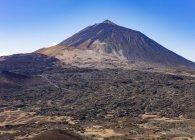 Landschaft des Vulkans Pico del Teide, Teide Nationalpark, Teneriffa, Kanarische Inseln, Spanien, Europa — Stockfoto