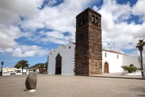 Building of Church of Our Lady of Candelaria in La Oliva, Fuerteventura, Canary Islands, Spain, Europe — Stock Photo