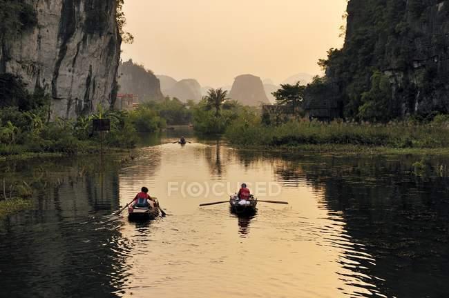 Tam Coc region near Ninh Binh — Foto stock