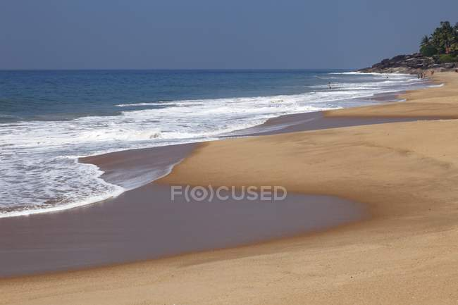 Піщані пляжі, Індії, Азії — стокове фото