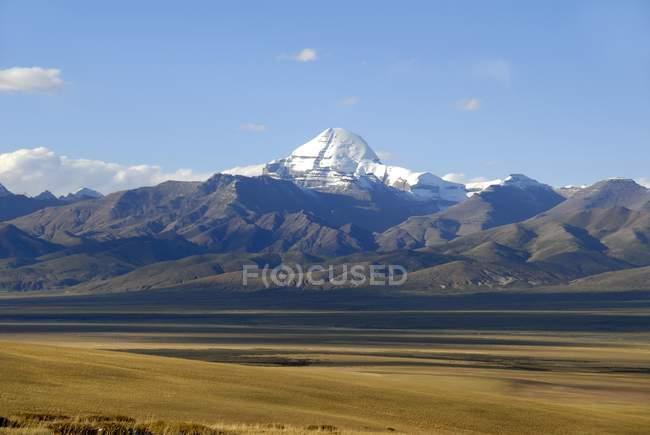 Montaña de Monte Kailash - foto de stock