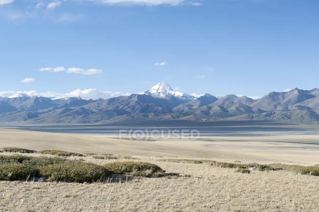 Sacro Monte Kailash innevata — Foto stock