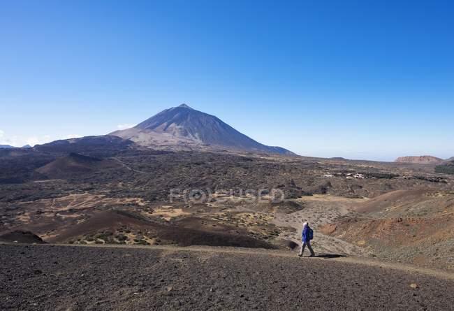 Pista de caminhada Ruta Arenas Negras — Fotografia de Stock