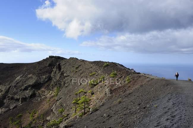 San Antonio-Vulkan in der Nähe von Fuencaliente — Stockfoto