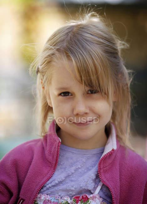 Bambina bionda — Foto stock