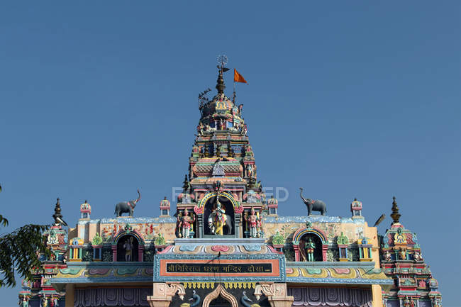 Détail d'orner Hanuman-ji à Jaipur, Rajasthan, Inde, Asie — Photo de stock