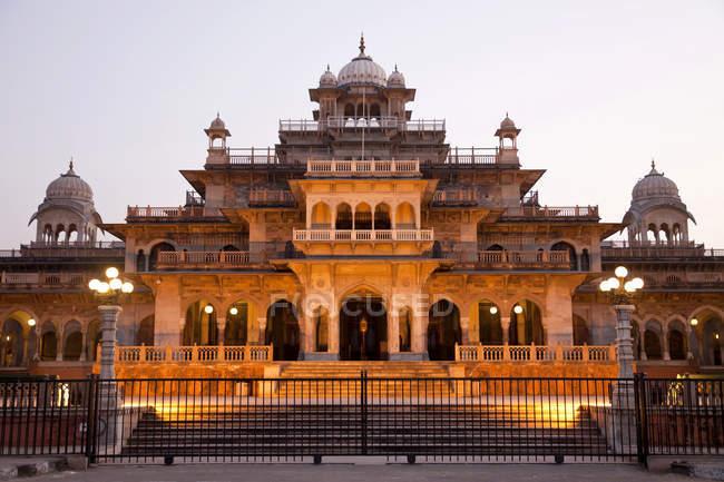 Albert Hall avec musée Central, Jaipur, Rajasthan, Inde, Asie — Photo de stock