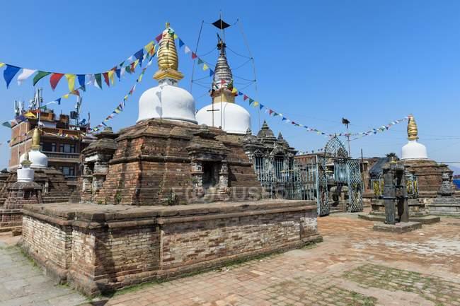 Kirtipur Ashoka Stupa et sanctuaire bouddhiste de Kirtipur, Népal, Asie — Photo de stock